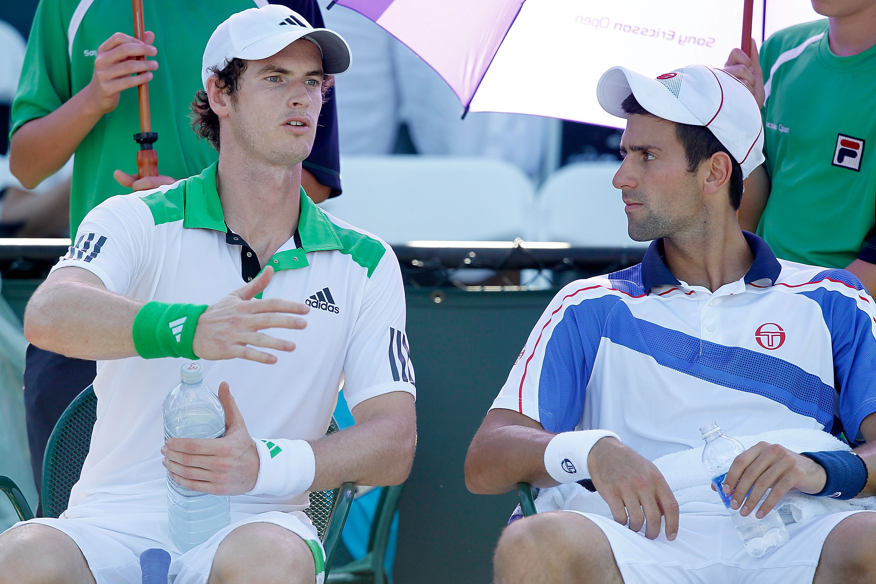 A history of Andy Murray's doubles partners
